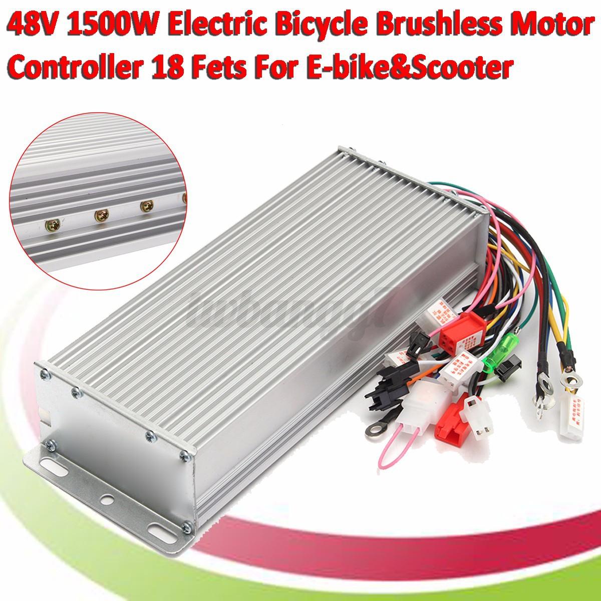 48v dc 1500w brushless motor controller for e bike scooter for Brushless dc electric motor