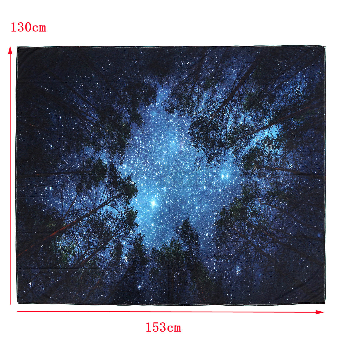 Forest starry sky fabric fiber tapestry upholstery indoor for Starry sky fabric