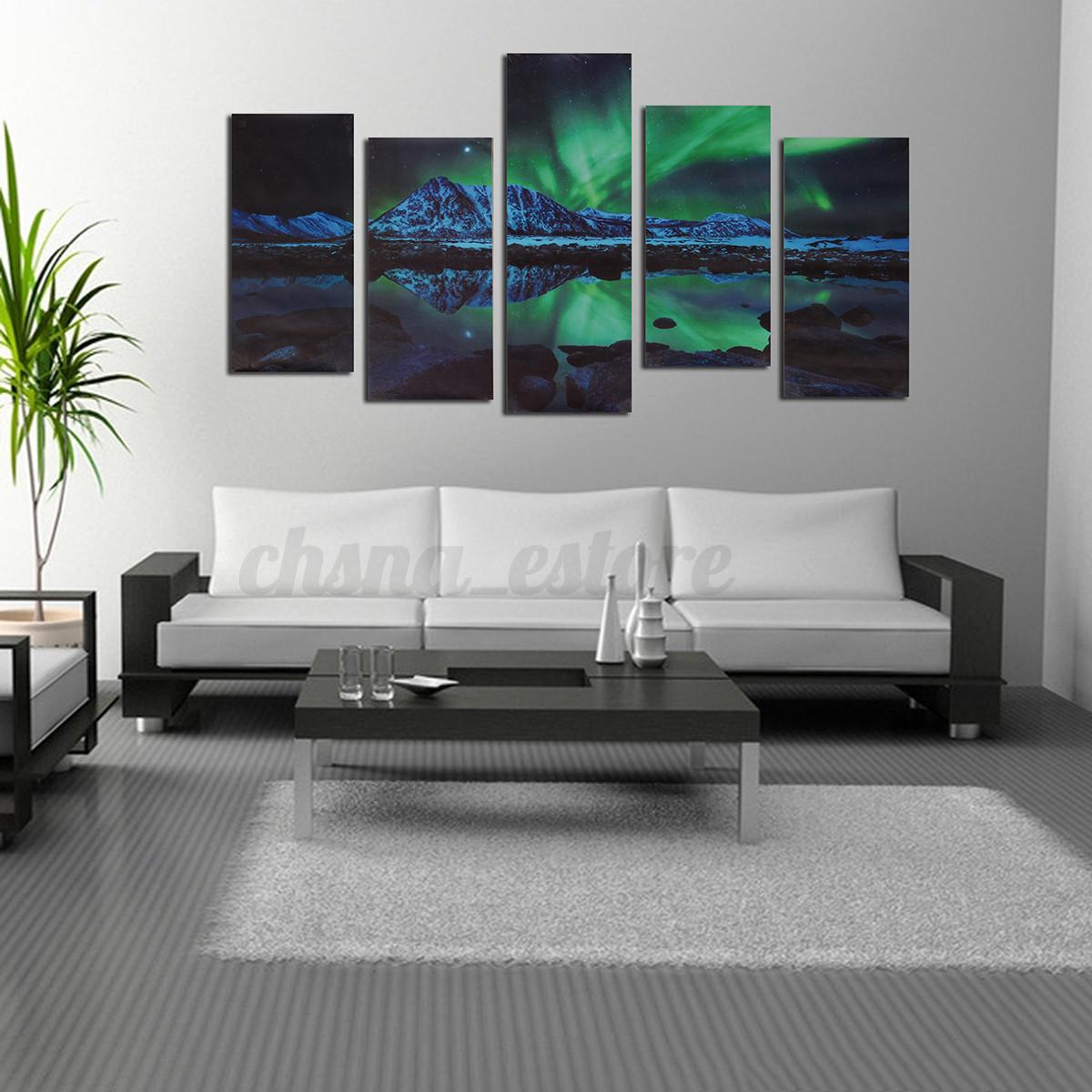 Grande-Lona-Moderno-Pintura-Si-Sin-Marco-Print-Lienzo-Cuadro-Hogar-Decoracion
