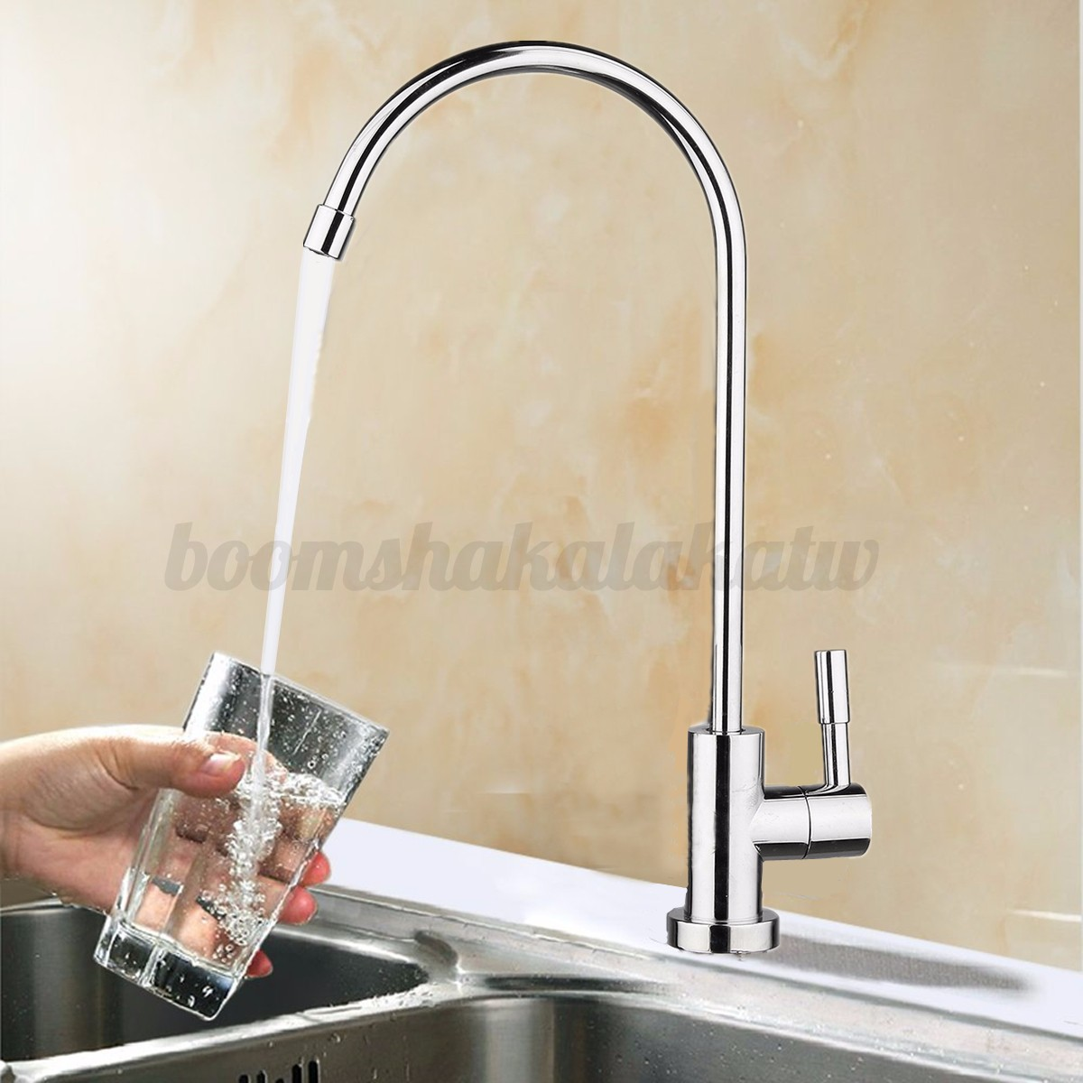 black tri ronda filter kitchen mixer flow chrome sink tap water swivel matte wholesale way product taps faucet rolya store