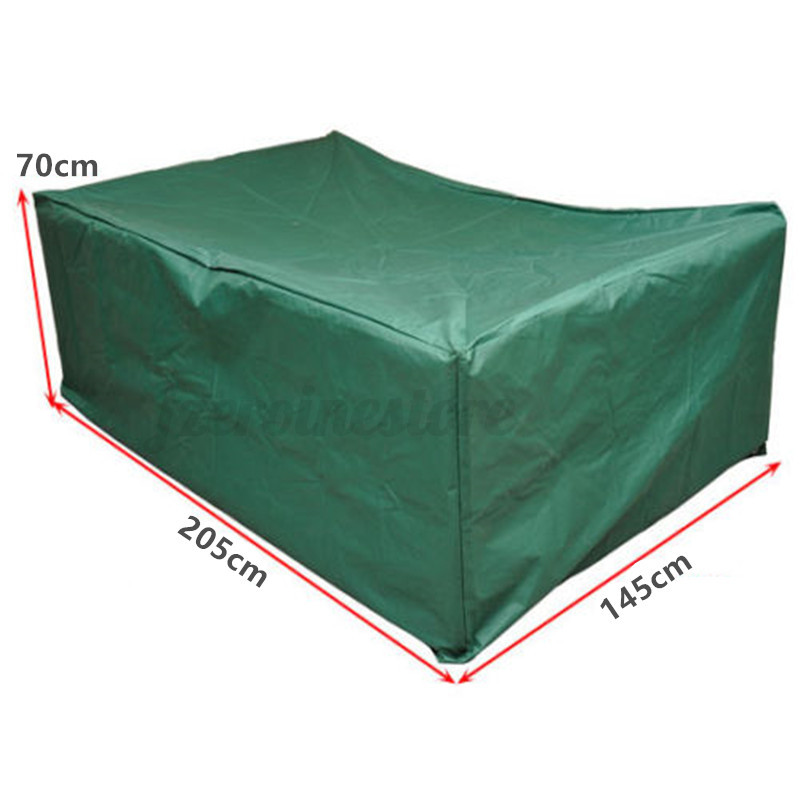 UV Lluvia Outdoor Funda Cubierta Muebles Jardín Patio Protector ...