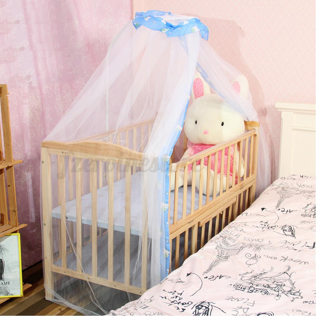 kinder baby himmel moskitonetz baldachin betthimmel f r. Black Bedroom Furniture Sets. Home Design Ideas