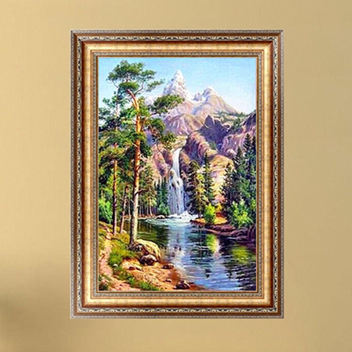 5d Diamond Tower Painting Bridge Diy Craft Handmade Embroidery Stitch Home Decor Ebay