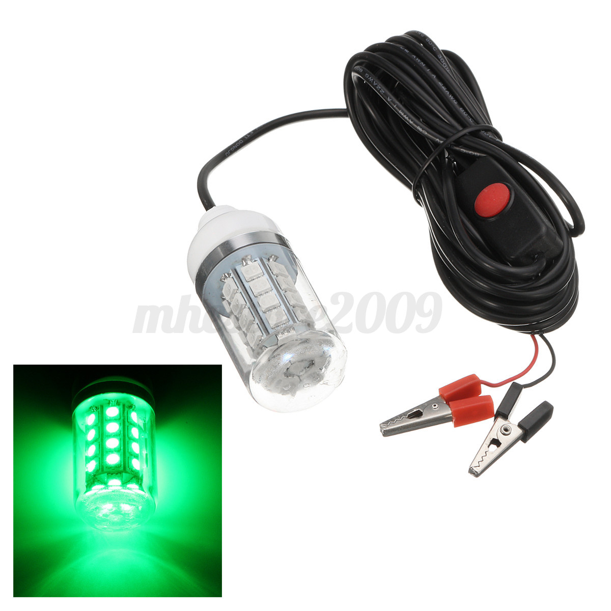 12v 36 led underwater submersible night fishing light shad