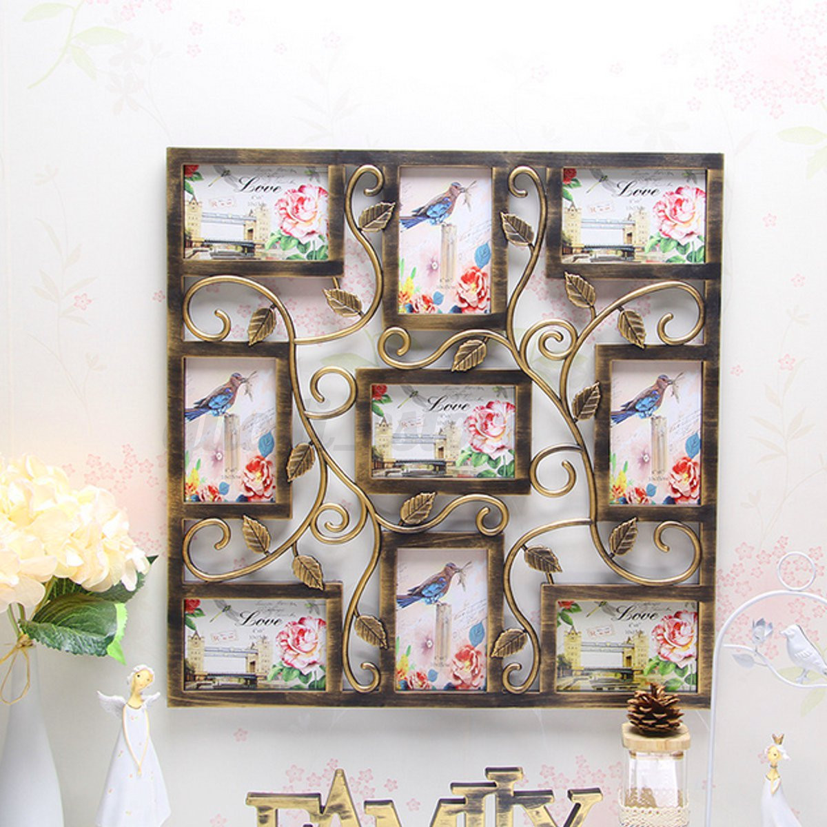 8 Types 6\'\' Collage Multi Photo Frames Love Picture Display Picture ...