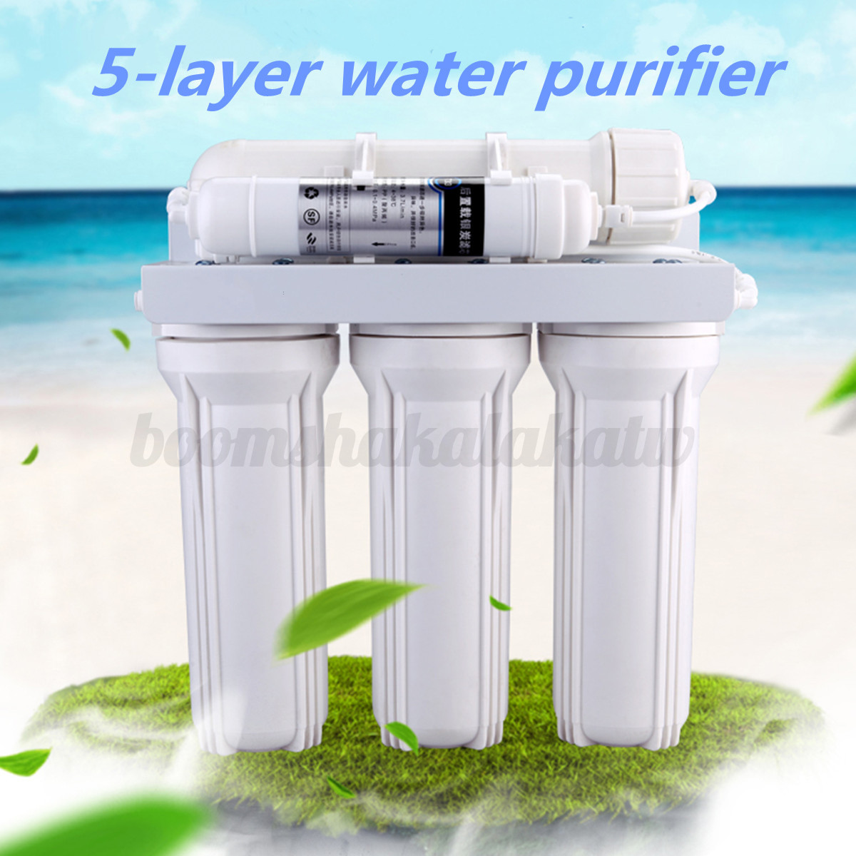 Home Water Filter System 5 Stage Water Filter System Reverse Osmosis Filtration Drink Home