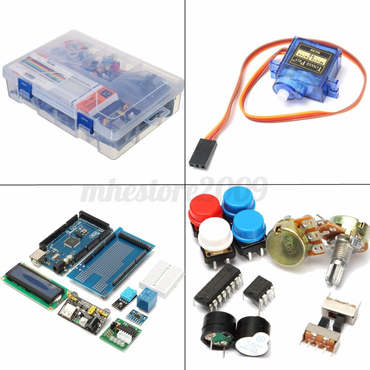 Ultimate learning starter kit for arduino mega
