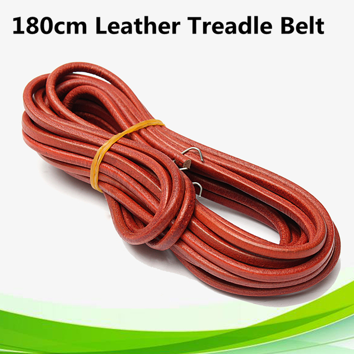71 180cm leather treadle belt parts hook for singer