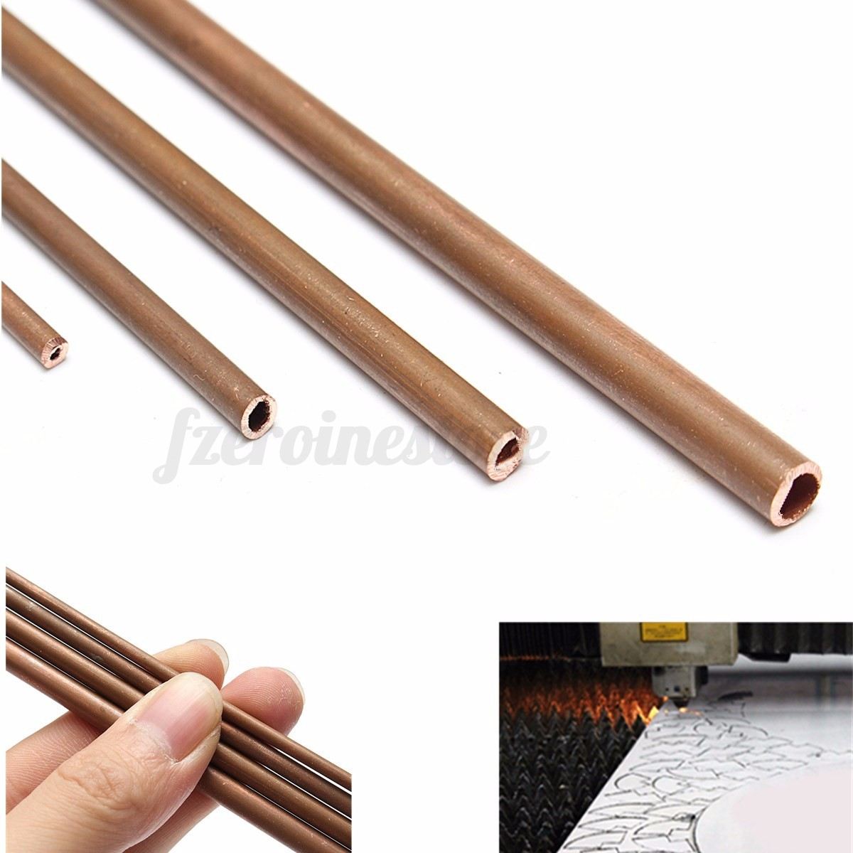 Copper tubes 2mm 5mm internal diameter 300mm long for Copper vs plastic pipes