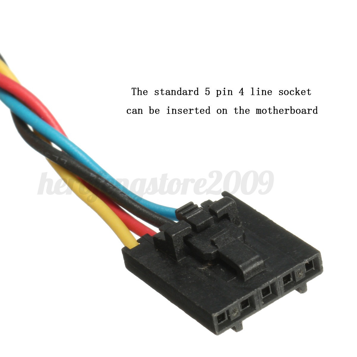 5 Pin Dedicated Fan Power Adapter Cable To 4 Wire ...