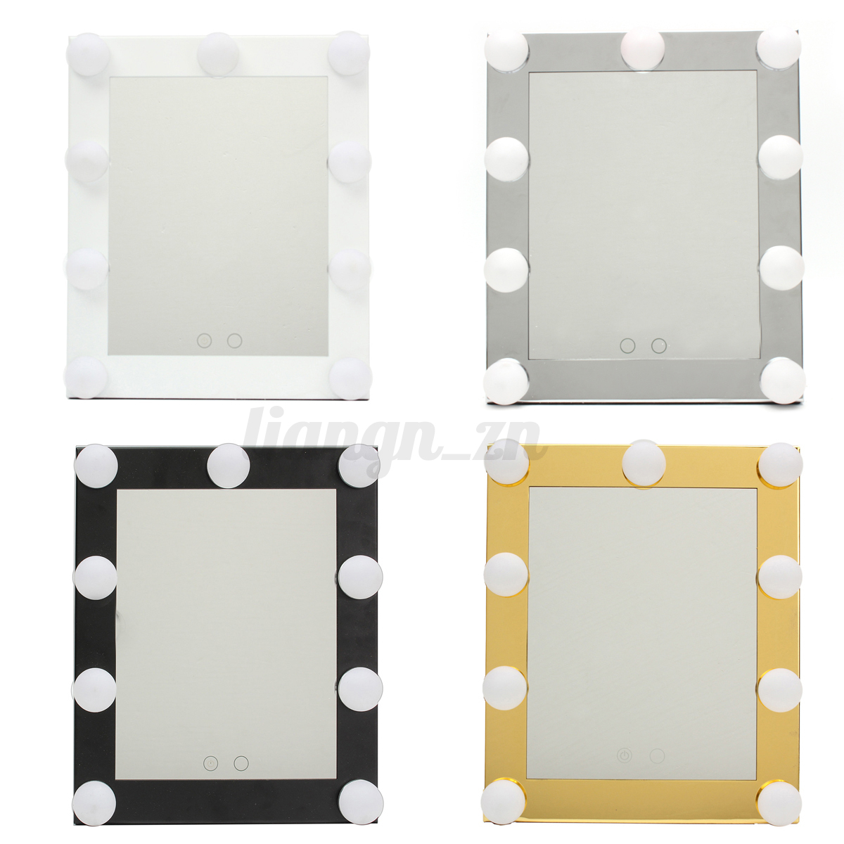 Hollywood Makeup Mirror with LED lights Vanity Make up lighted Beauty mirror eBay