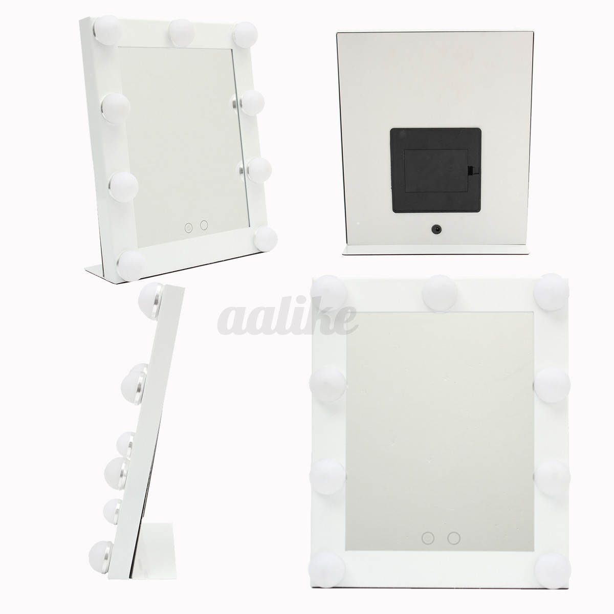 Vanity Lights With Dimmer : LED Vanity Lighted Hollywood Makeup Mirror with lights Dimmer Stage Beauty Touch