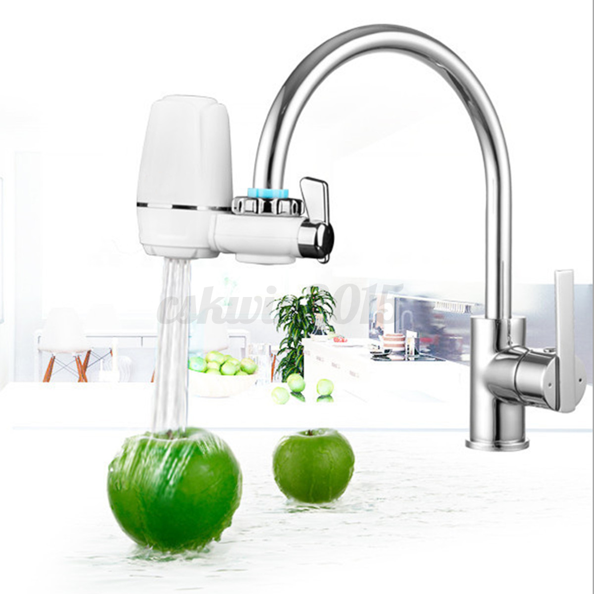 Faucet Tap Water Filter Ceramic Faucet Mount Water Purifier For ...