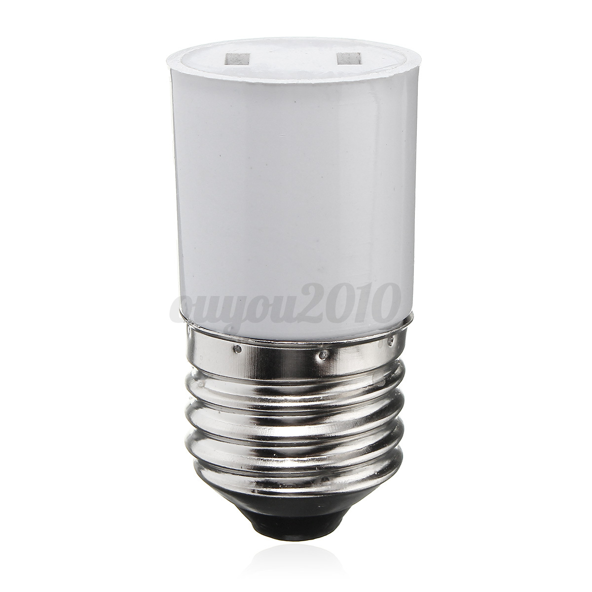 b22 e27 light lamp bulb socket holder convert to us power. Black Bedroom Furniture Sets. Home Design Ideas