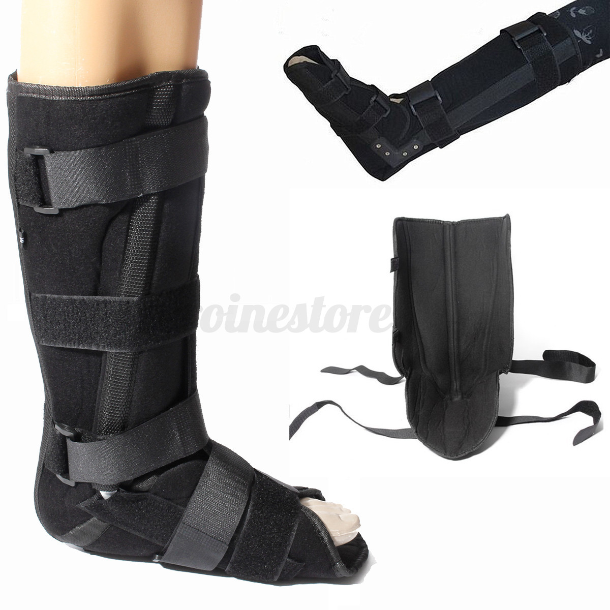 universal neoprene walker boot brace support fracture foot