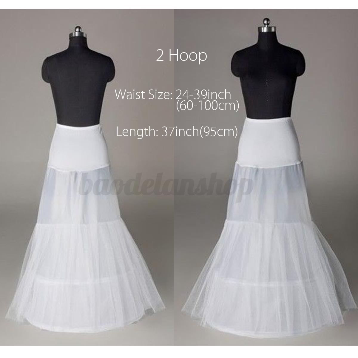 5-Style-Blanc-Jupon-Crinoline-Mariage-Robe-De-Mariee-Soiree-Petticoat-Femme-Mode