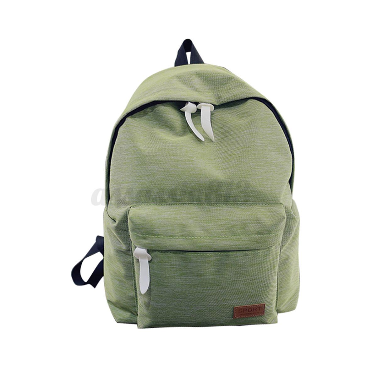 Awesome Women Canvas Travel Shoulder Bag Hiking Backpack School Book Bag Rucksack | EBay