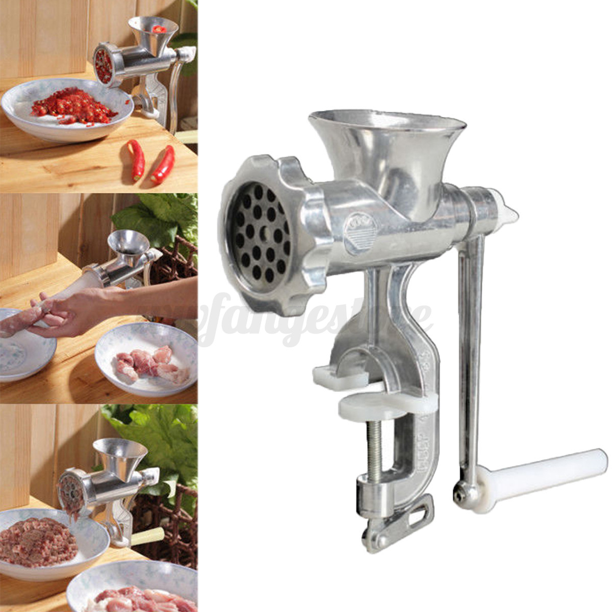 Heavy Duty Hand Manual Meat Grinder Sausage Beef Mincer