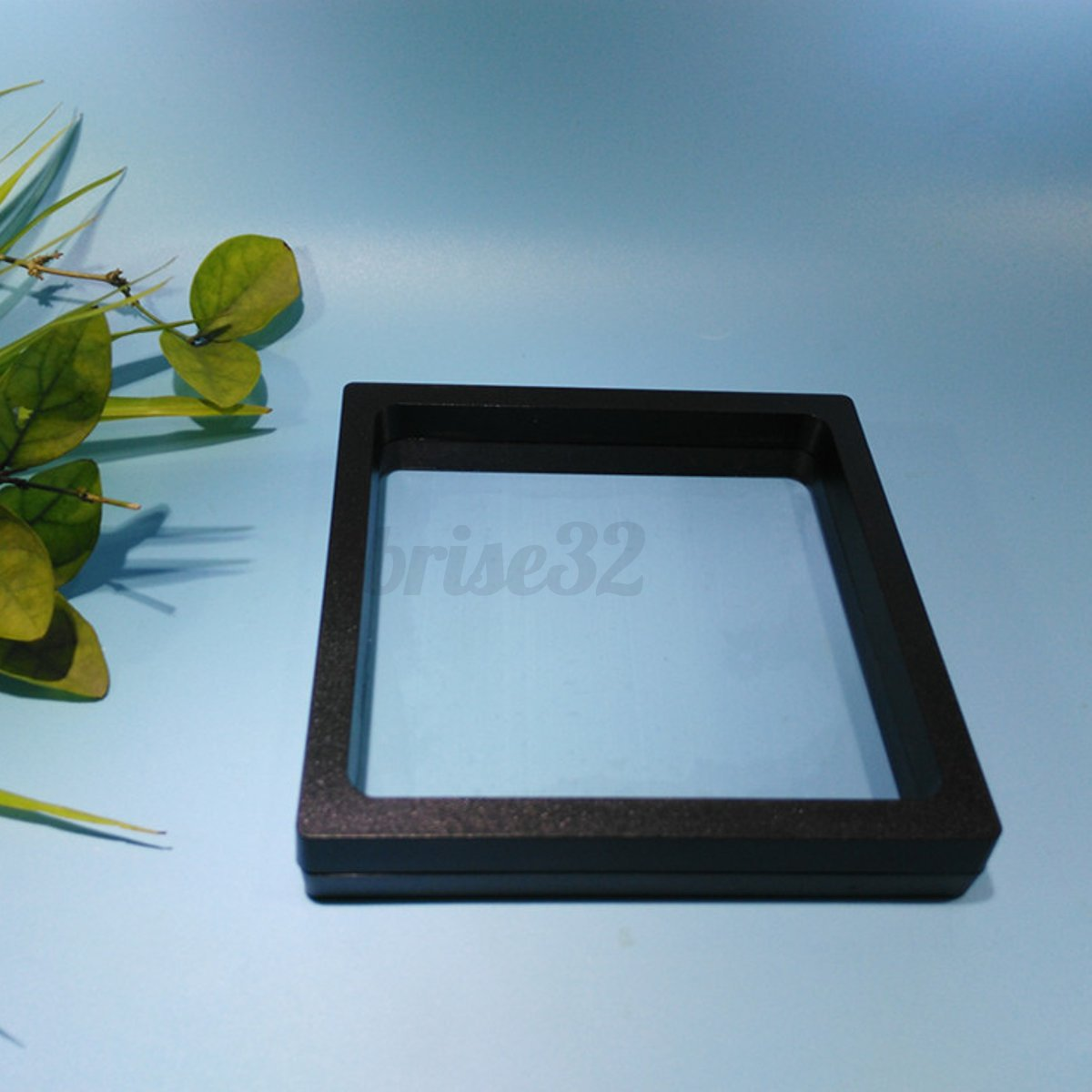 Custom Jewelry Display Frame: 2 Size Square 3D Albums Floating Frame Holder Coin Box