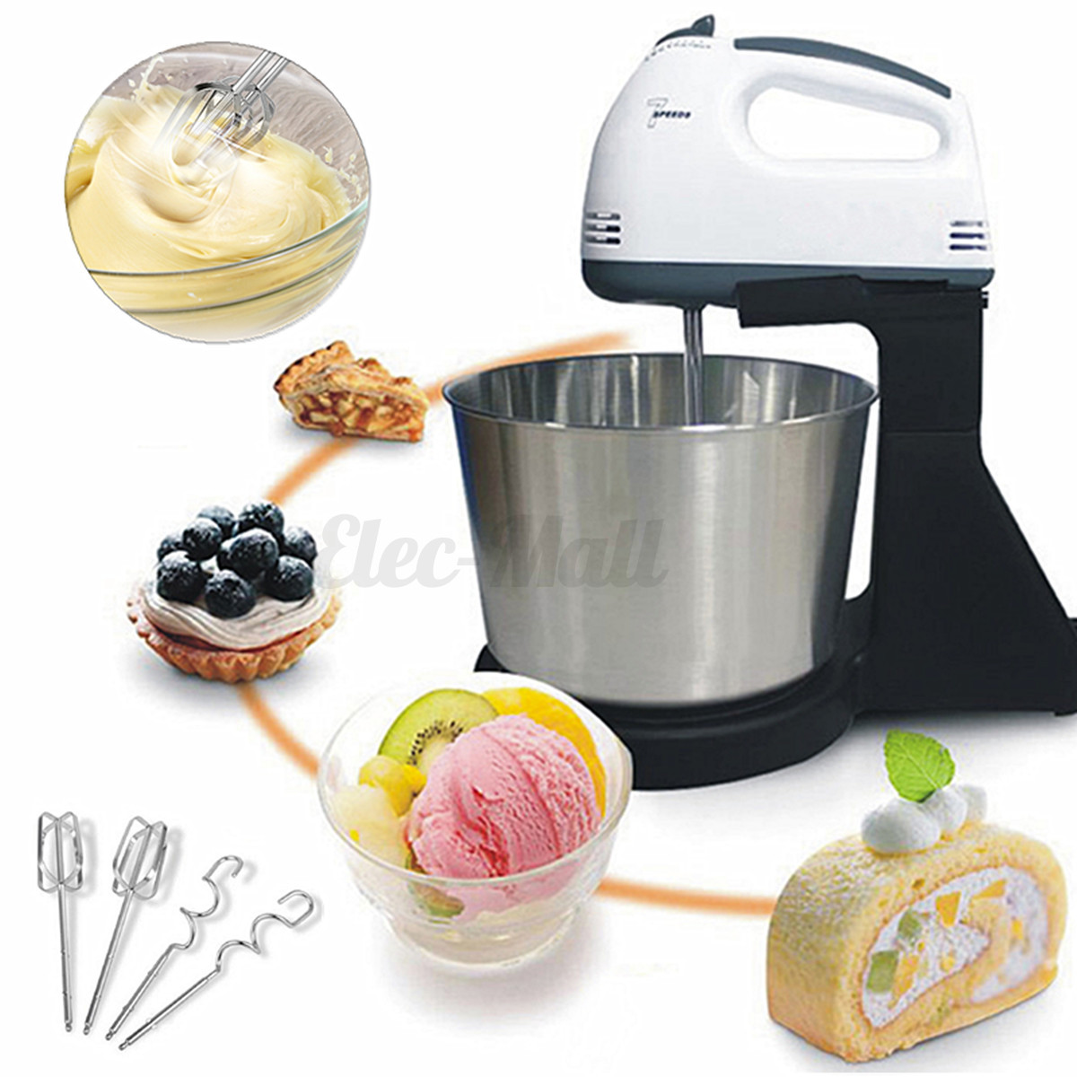 Which Speed Hand Mixer Will Be Good For Cake Mixing