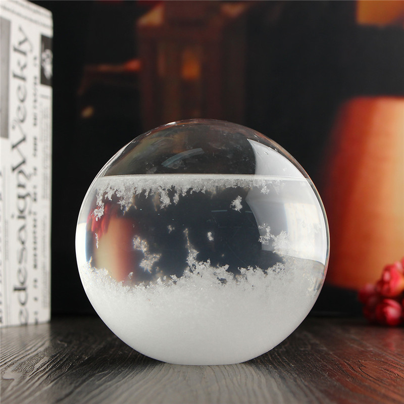 Weather forecast crystal storm glass colorful luminous