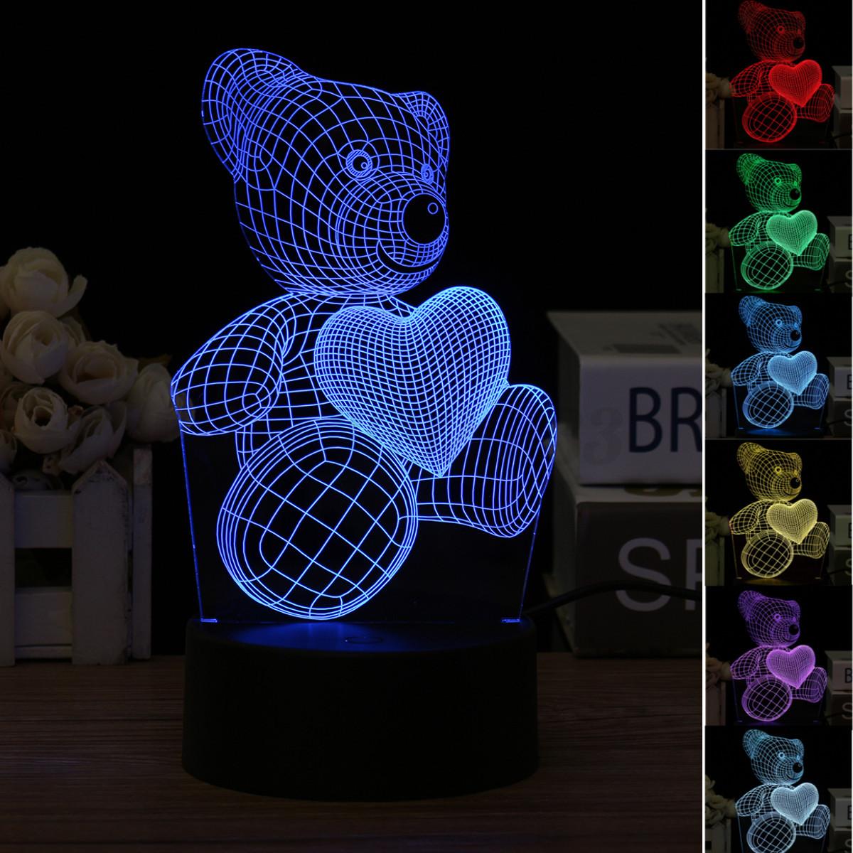 LAMPADA-LED-ILLUSIONE-OTTICA-3D-Acrilico-Luce-Notturna-Scrivania-CAMBIA-LAMP-USB