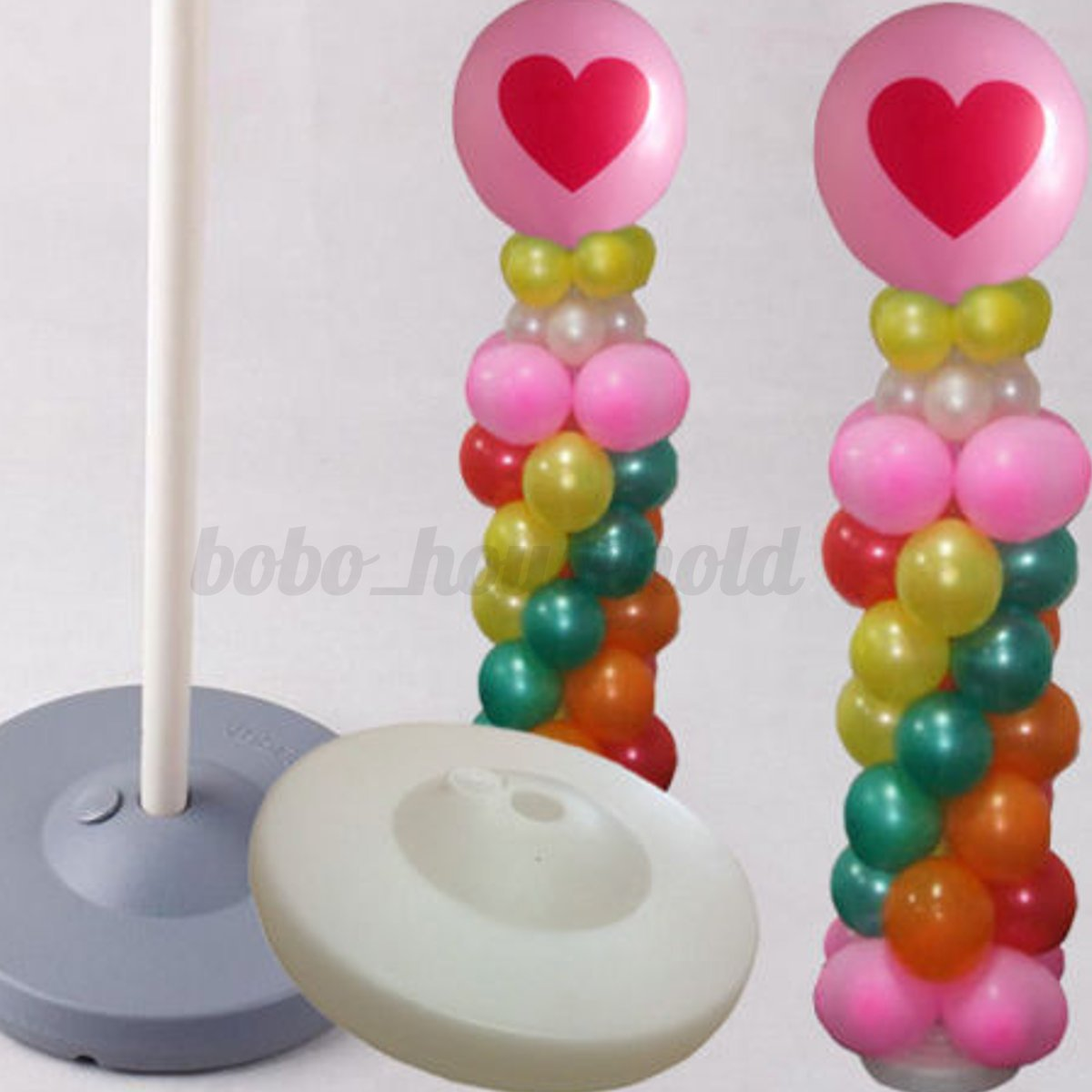 Balloon column arch set upright base pole stand display for Balloon arch decoration kit