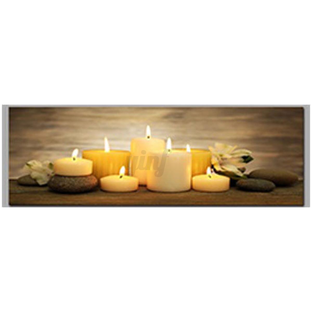 christmas led light up luminous framed painting canvas. Black Bedroom Furniture Sets. Home Design Ideas