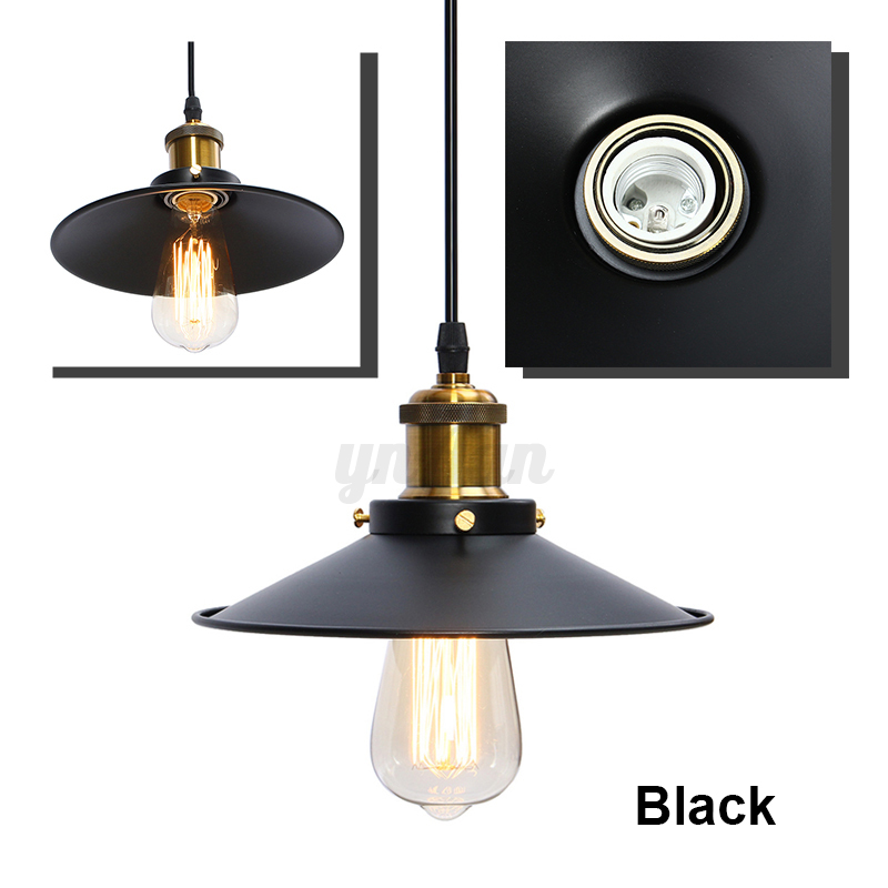 Retro Hanging Ceiling Light Industrial Pendant Retractable