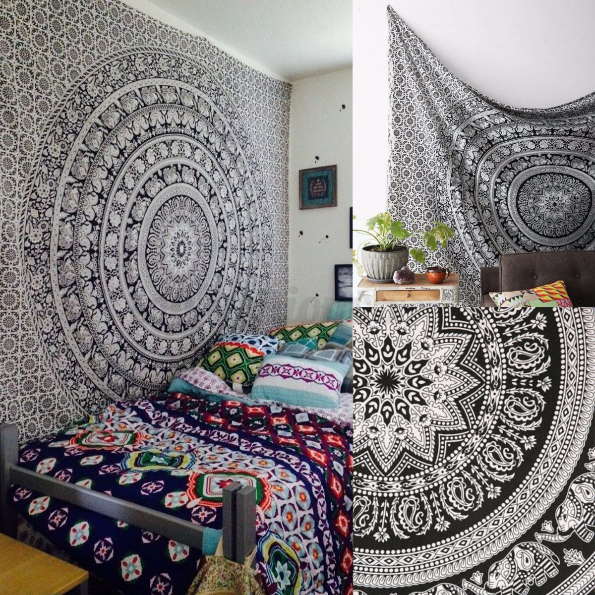 Stile indiano da parete mandala arazzo hippy gitano for Piani casa gratuiti stile indiano