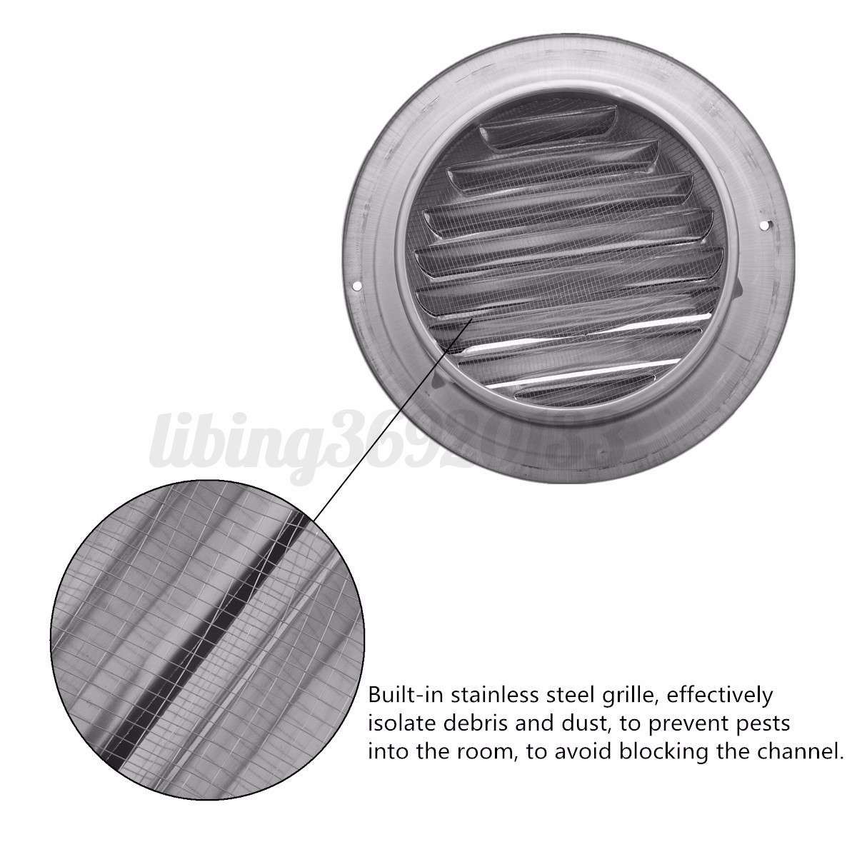 metal exhaust vent covers