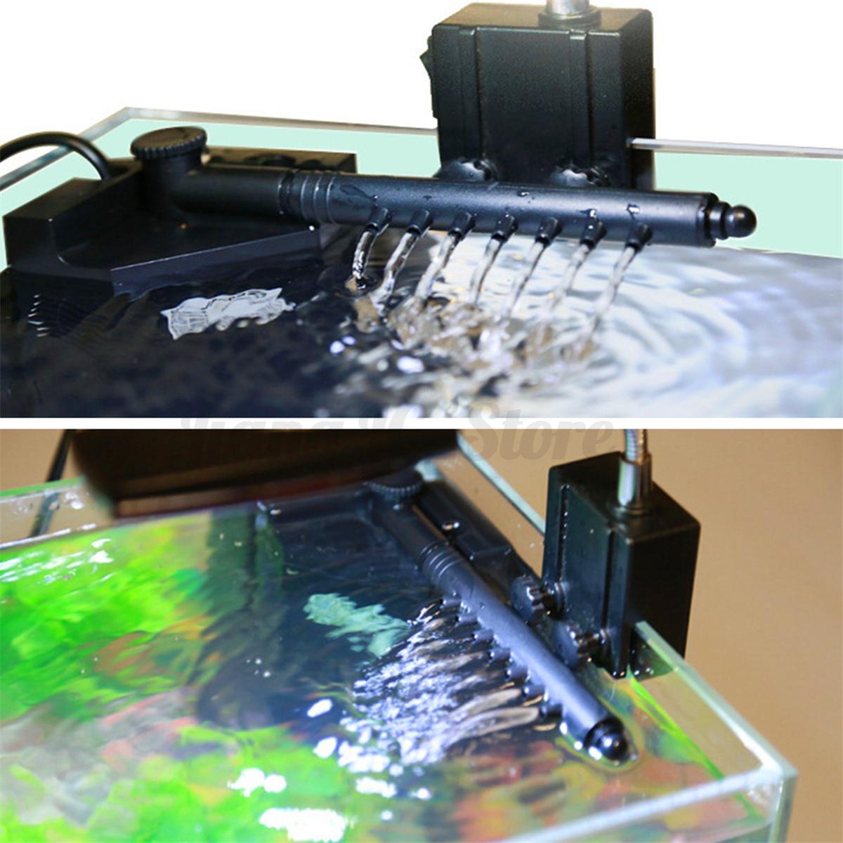 Aquarium internal corner fish tank filtration filter water for Water softener for fish tank