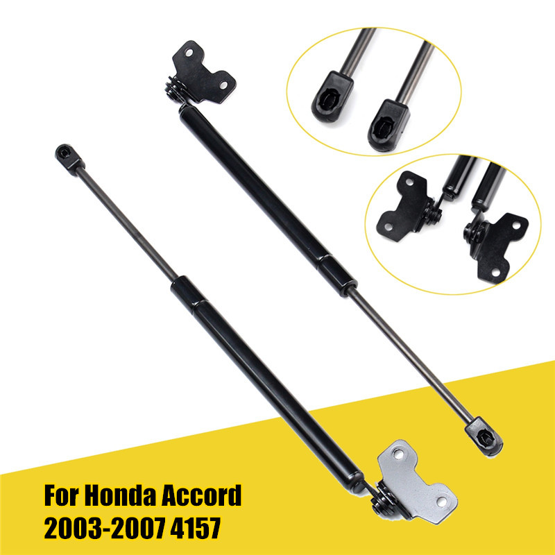 2x Gas Lift Auto Front Hood Lift Supports Struts Shocks
