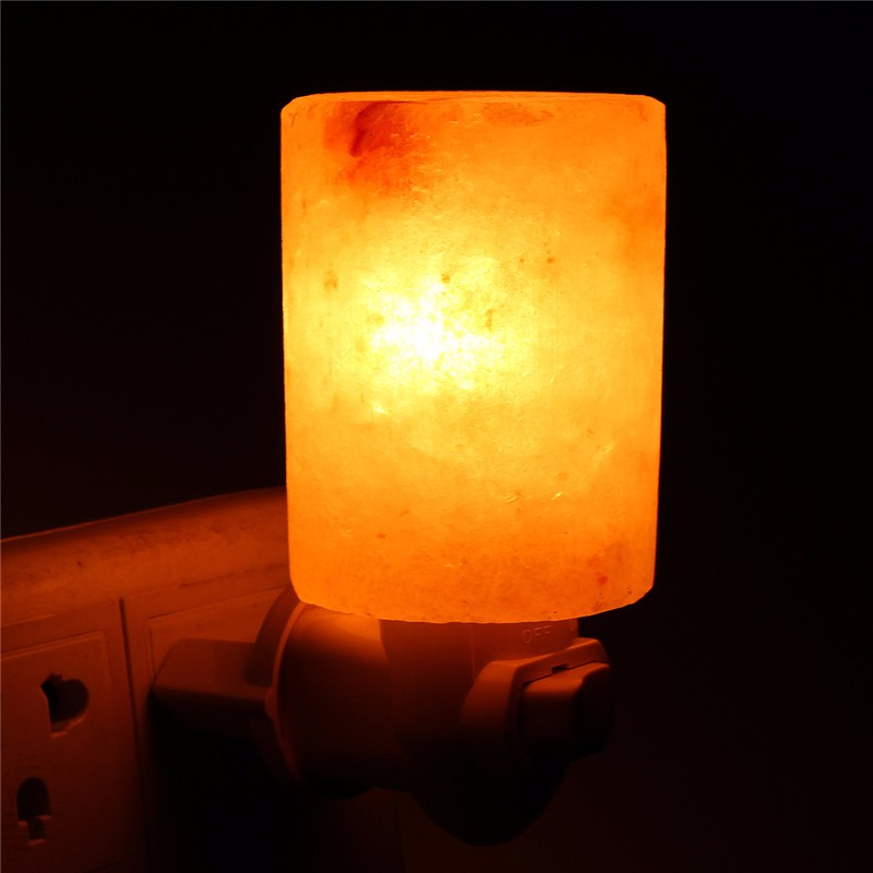 Salt Lamps Night Lights : HIMALAYAN SALT LAMP Mini Bulb Natural Crystal Rock Wall Night Light AU Plug 15W eBay