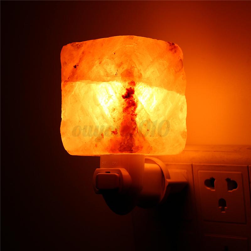 Salt Crystal Lamp Himalayan Glow : Natural Crystal Himalayan Glow Hand Carved Crystal Salt Lamp Wall Light 110-240V eBay