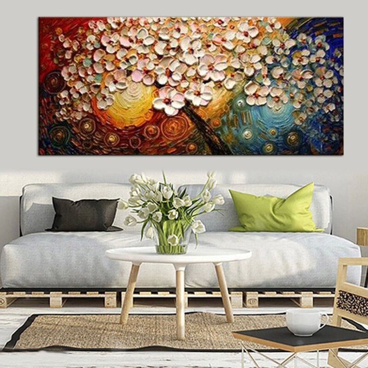 Huge modern abstract canvas print painting picture wall mural huge modern abstract canvas print painting picture wall amipublicfo Choice Image