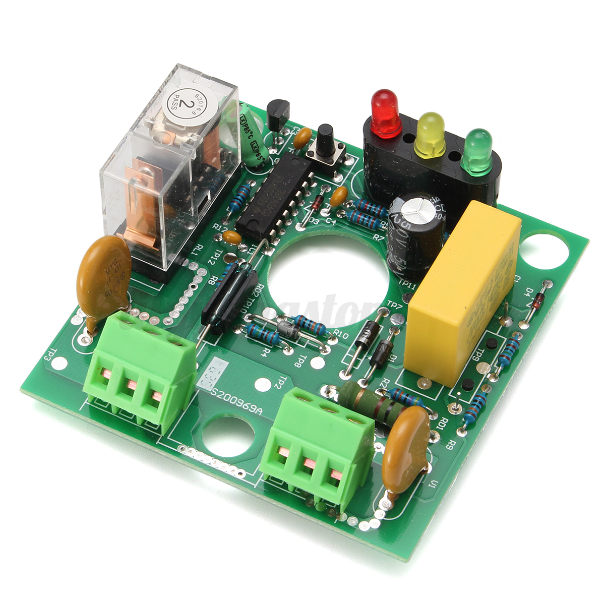 Water Pump Automatic Pressure Control Electronic Switch Circuit Printed Board Royalty Free Stock Photography Detail Image