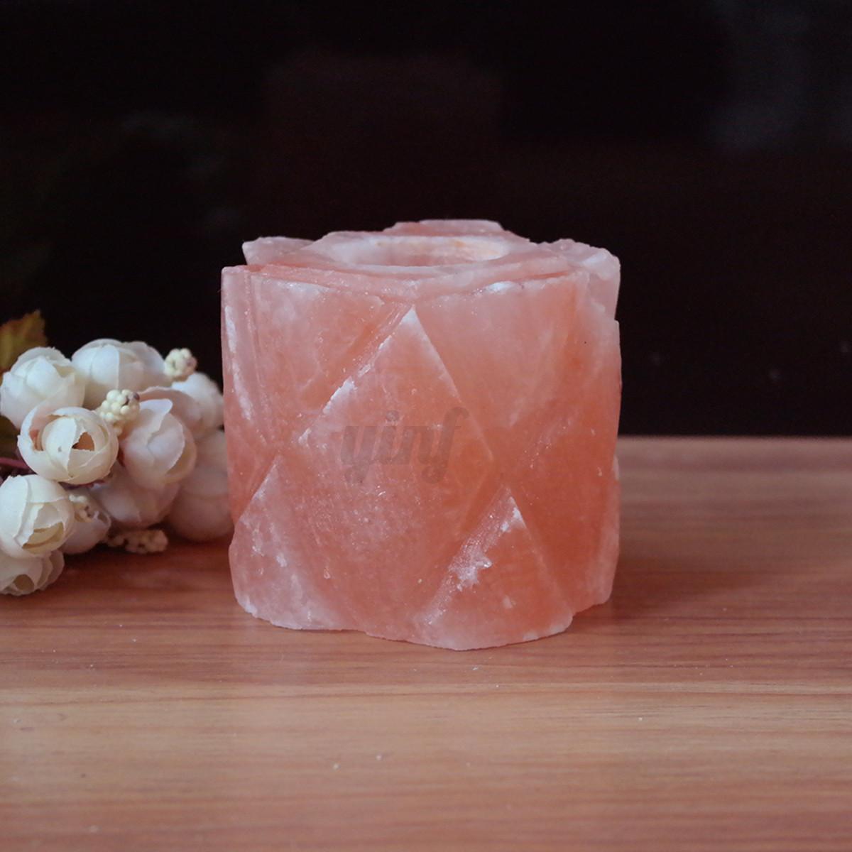 Salt Lamps Placement : Himalayan Natural Crystal Rock Salt Lamp Candle Holder Night Light Air Ionizer eBay