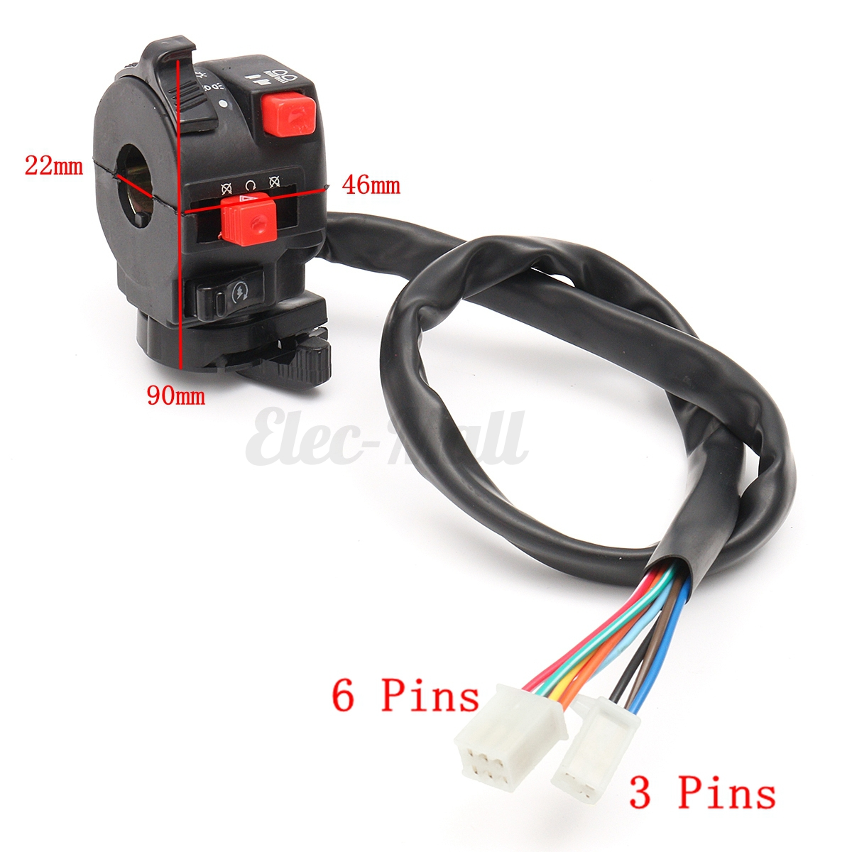 wiring harness loom solenoid coil rectifier cdi 120cc