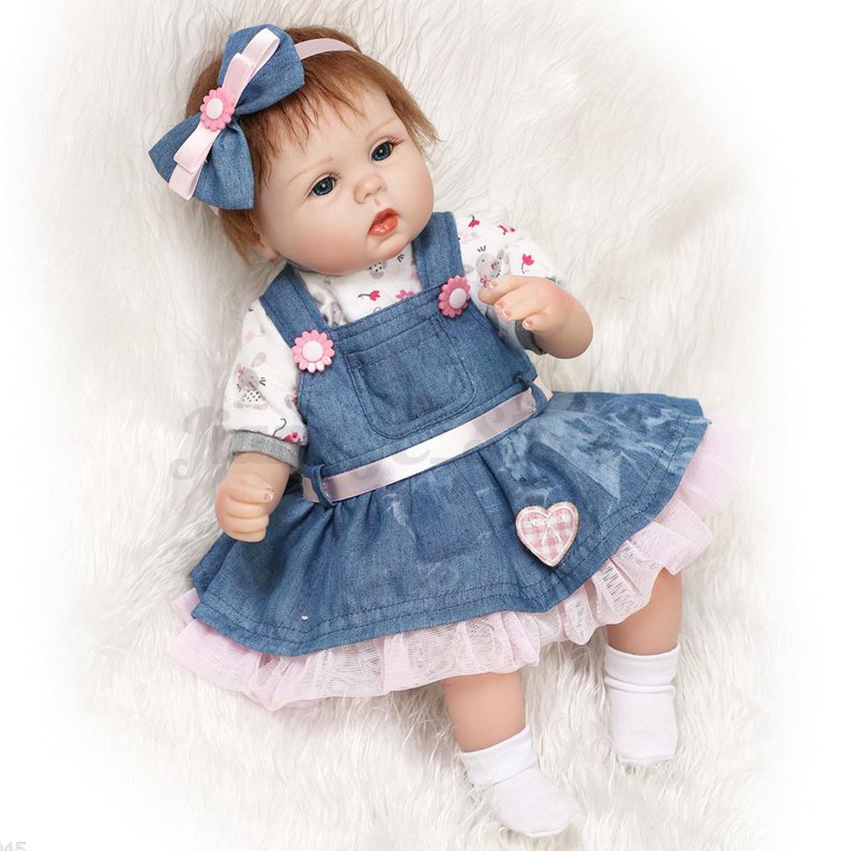 30 Types Lifelike Baby Doll Handmade Silicone Vinyl Reborn