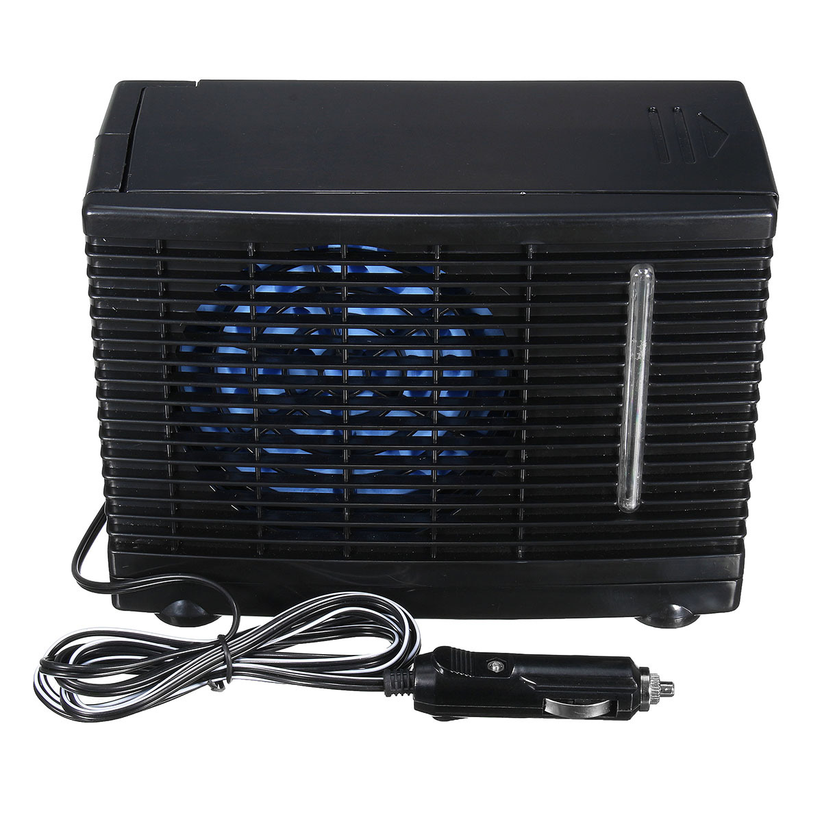 #1D61AE 12V Portable Home Car Cooler Cooling Fan Water Ice  Most Recent 13600 Portable Air Conditioning Units For Cars image with 1200x1200 px on helpvideos.info - Air Conditioners, Air Coolers and more