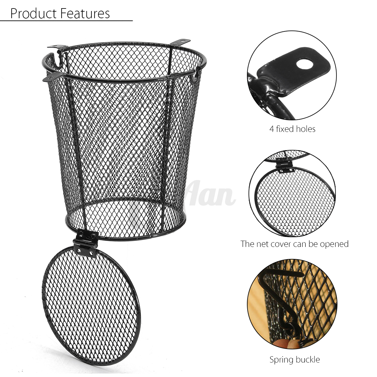 reptile vivarium light lamp shade bulb heater guard. Black Bedroom Furniture Sets. Home Design Ideas