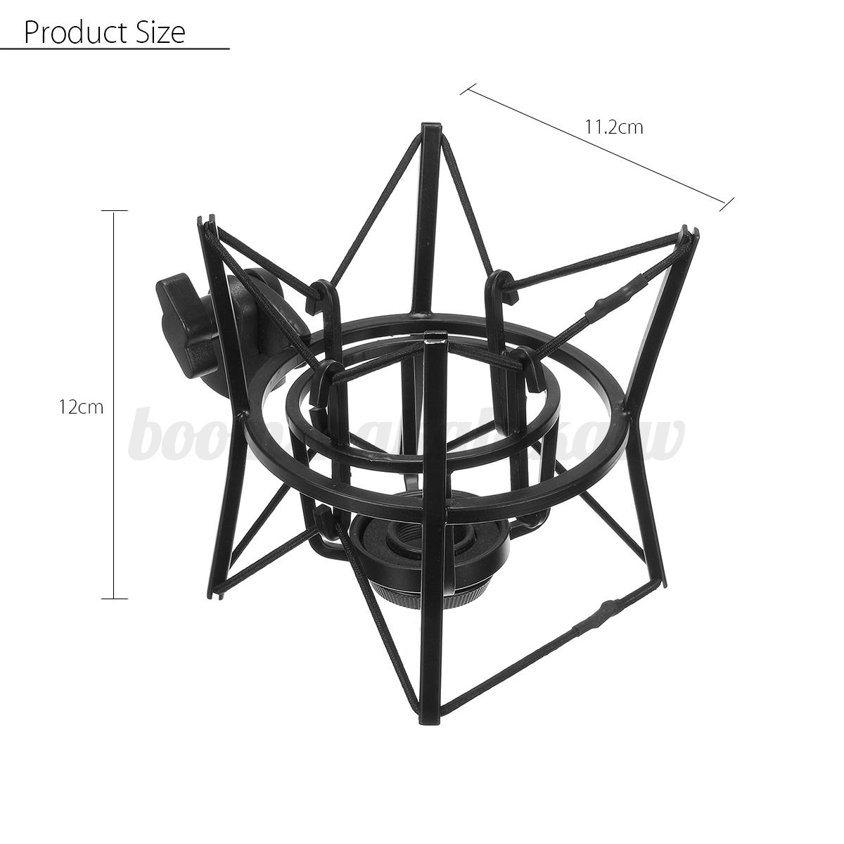 metal microphone shock mount holder stand for akg 100 200 samson c01 sp01 c03 ebay. Black Bedroom Furniture Sets. Home Design Ideas