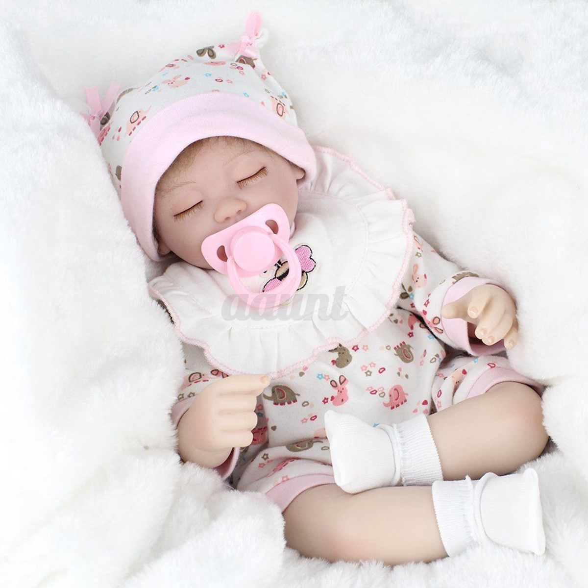 Silicone Reborn Girl Body Dolls Newborn Baby Vinyl