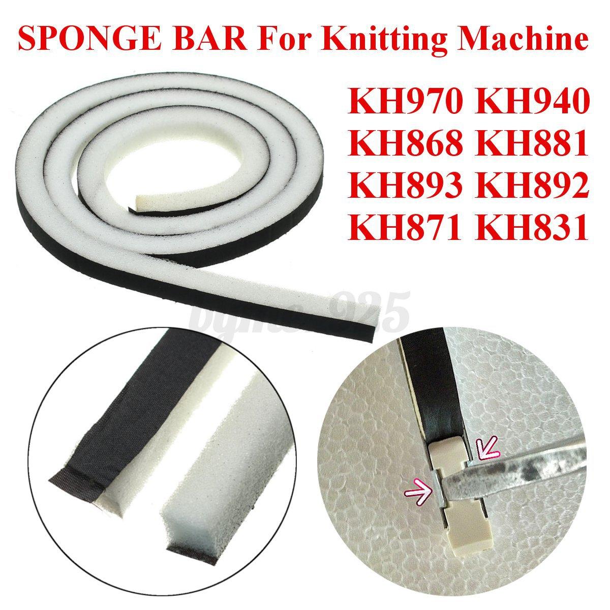 sponge bar for knitting machine