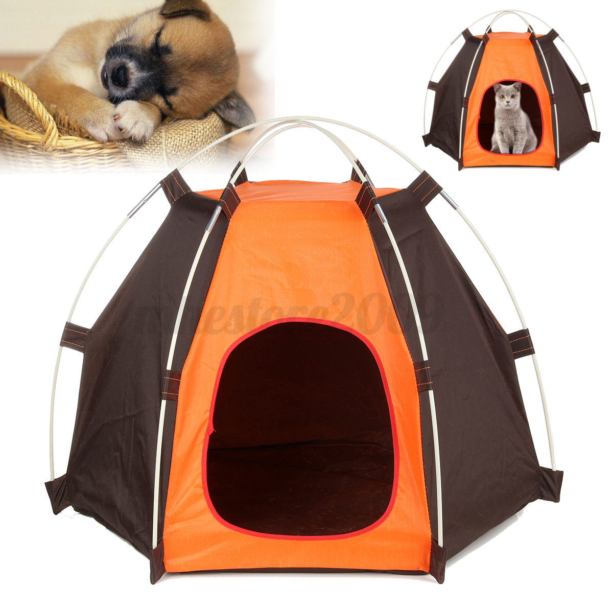 Aliexpress Com Buy Dog Portable Outdoor Travel Water: Hot Portable Folding Dog Pet House Bed Tent Waterproof Cat