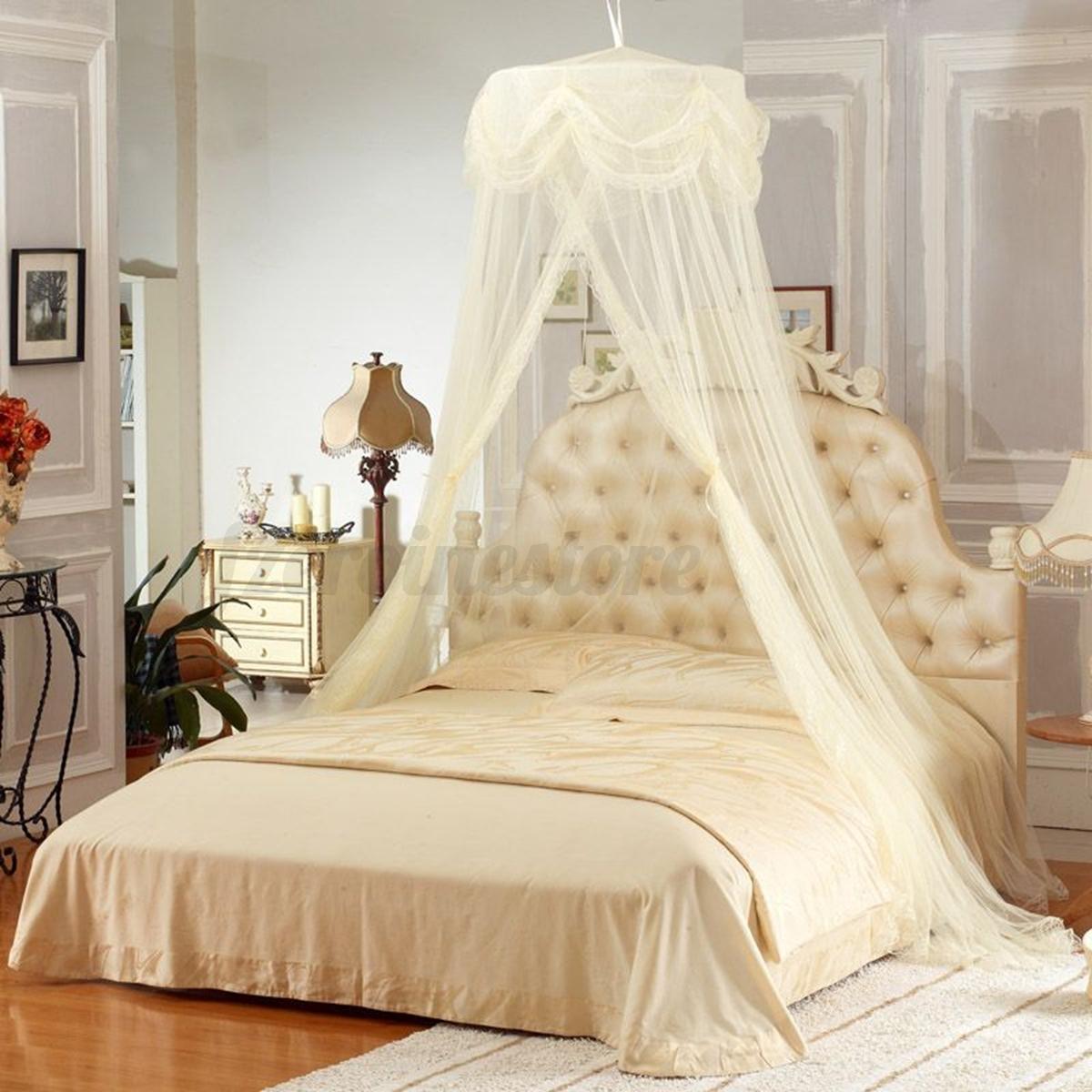 moskitonetz m ckennetz betthimmel fliegennetz insekten schutz reisenetz farben ebay. Black Bedroom Furniture Sets. Home Design Ideas