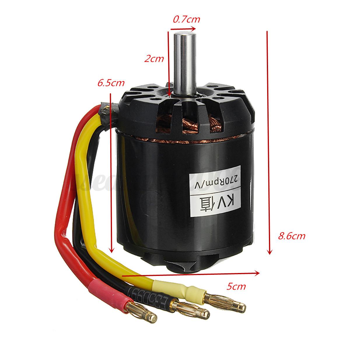 5065 270kv 1665w outrunner brushless motor for diy. Black Bedroom Furniture Sets. Home Design Ideas