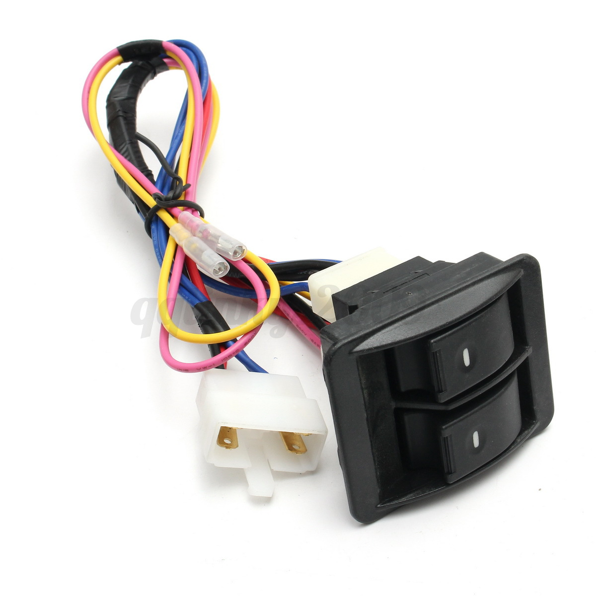 12V Universal Power Window 3Pcs Switch Kit +Holder+ ...