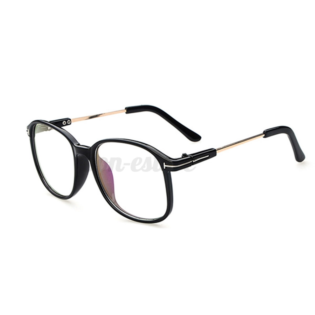 Large Frame Fashion Eyeglasses Oversized Clear Lens ...